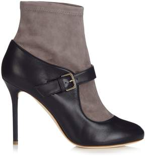 Malone Souliers Jeanette suede and leather sock boots