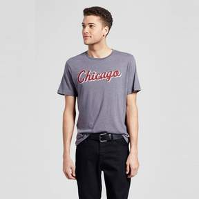 Awake Men's Chicago Star Script T-Shirt - Charcoal Gray