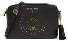 Michael Kors MICHAEL Ginny Med Camera Crossbody Bag - BLACK - STYLE