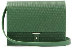 Pb 0110 Ab10 Mini Leather Cross Body Bag - Womens - Green