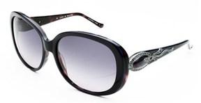 Judith Leiber Women's Radiance Sunglasses Sapphire/tortoise.