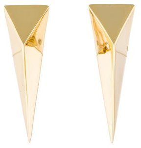 Alexis Bittar Extra Large Pyramid Clip-On Earring