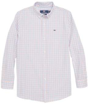 Vineyard Vines Winding Bay Gingham Woven Shirt