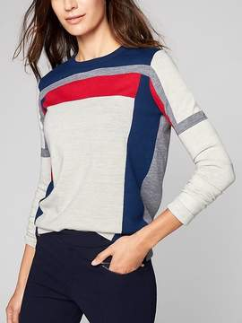 Athleta Merino Strobe Sweater