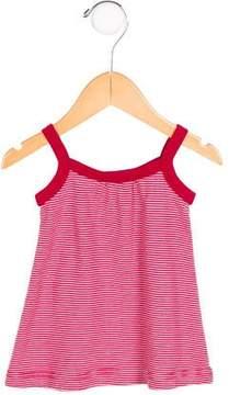 Petit Bateau Girls' Striped Sleeveless Top