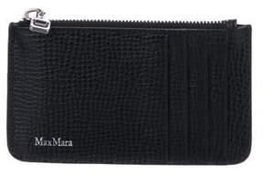 Max Mara Textured Leather Cardholder