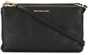 MICHAEL Michael Kors Crossbodies Double Zip Crossbody Black - BLACK - STYLE