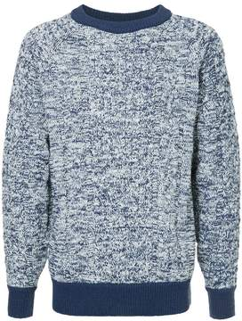 H Beauty&Youth textured knit sweater