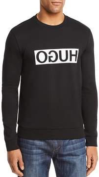 HUGO Boss Dicago Reverse Logo Crewneck Sweatshirt