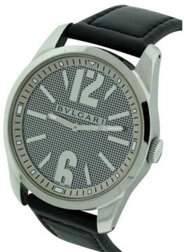 Bulgari Solotempo Large Stainless Steel Mens 42mm Watch