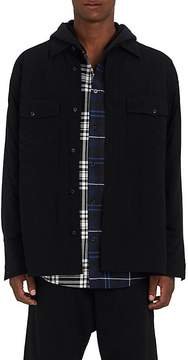 Alexander Wang Men's Tech-Fabric Oversized Shirt