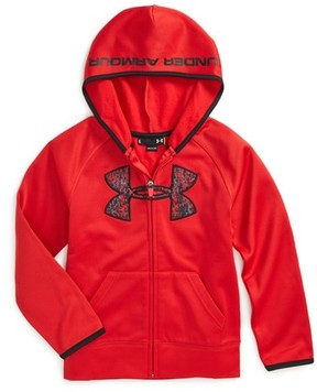 Under Armour Toddler Boy's Geo Cache Big Logo Hoodie