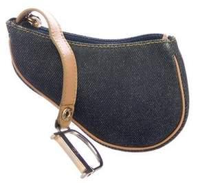 Christian Dior Saddle Coin Pouch