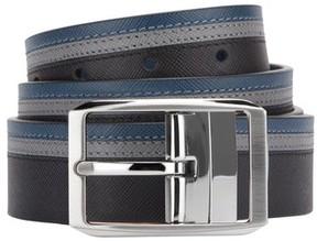Bugatchi Men's Reversible Saffiano Leather Belt