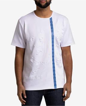 Hudson Nyc Men's Embossed Shirt