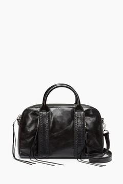 Rebecca Minkoff Vanity Zip Bag Satchel Bag - ONE COLOR - STYLE