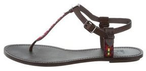 Belle by Sigerson Morrison Leather Thong Sandals