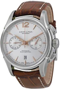 Hamilton Jazzmaster Chronograph Silver Dial Men's Watch