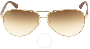 Ray-Ban Aviator Light Brown Gradient Sunglasses