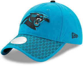 New Era Women's Carolina Panthers Sideline 9TWENTY Cap