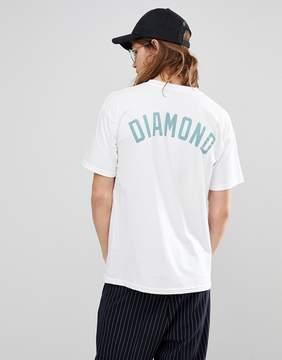 Diamond Supply Co. T-Shirt With Back Print