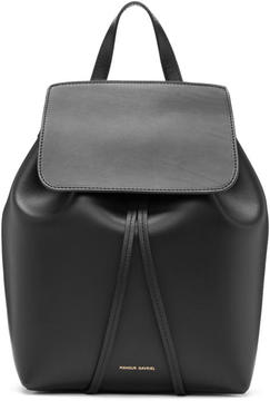 Mansur Gavriel Black Leather Mini Backpack