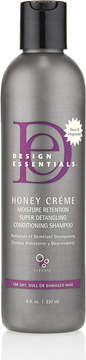 JCPenney Design Essentials Honey Crme Moisture Retention Super Detangling Conditioning Shampoo 8oz