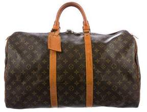 Louis Vuitton Vintage Monogram Keepall 60
