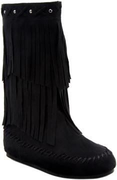 Rampage Black Bunnie Boot