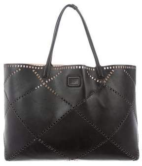 Roger Vivier Perforated Leather Tote