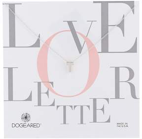 Dogeared Love Letter Initial Necklace Necklace