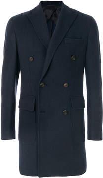 Hackett double-breasted coat