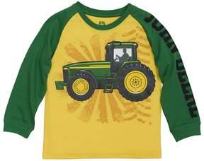 John Deere Boys 4-7x Tractor Raglan Tee
