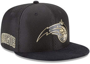 New Era Orlando Magic On-Court Black Gold Collection 9FIFTY Snapback Cap