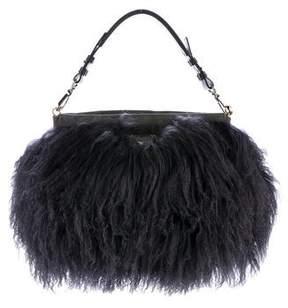 Emporio Armani Mongolian Lamb Fur Bag