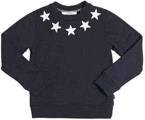 Givenchy Stars Patch Cotton Sweatshirt
