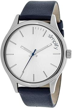 Simplify The 2400 Collection SIM2406 Stainless Steel Analog Watch