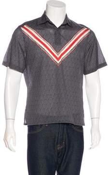 Louis Vuitton Printed Popover Shirt