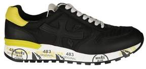 Premiata Men's Black Fabric Sneakers.