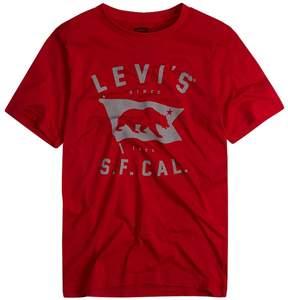 Levi's Boys 8-20 Logo Tee