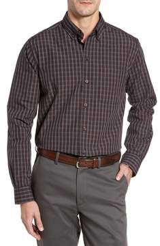Cutter & Buck Cavanah Non-Iron Plaid Sport Shirt