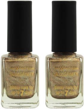 Max Factor Angel Nails Glossfinity Nail Polish - Set of Two