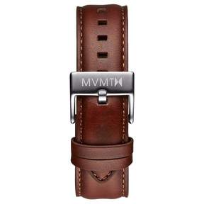 MVMT Mens 40 Series 20mm Natural Leather