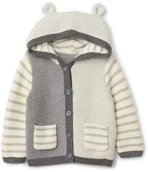 Gap Colorblock Garter Hoodie Sweater