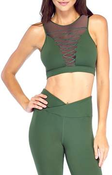 Electric Yoga Entrapped Lace-Up Sports Bra