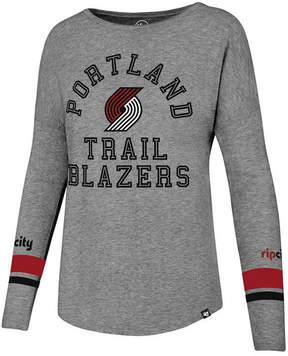 '47 Women's Portland Trail Blazers Encore Long Sleeve T-Shirt