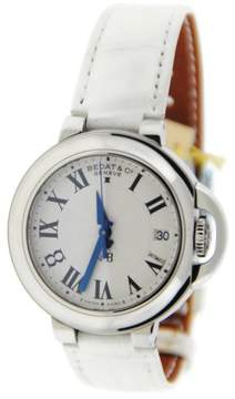 Bedat & Co 828.011.600 No.8 Stainless Steel & Leather Automatic 36.5mm Womens Watch