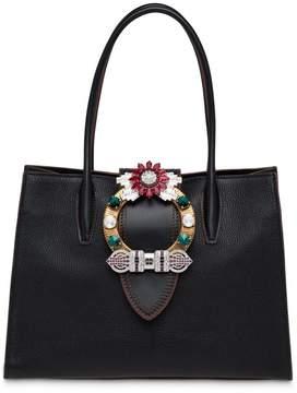Miu Miu embellished tote bag