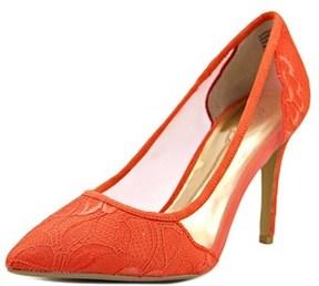 Thalia Sodi Natalia Women Pointed Toe Canvas Heels.