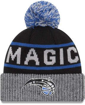 New Era Orlando Magic Court Force Pom Knit Hat